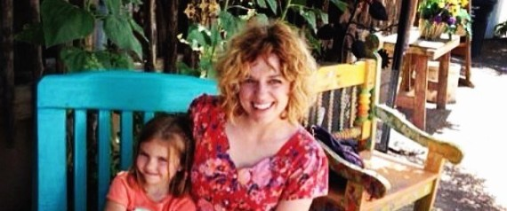 Megan Conley et sa fille